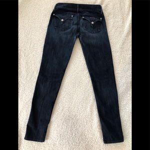 Women's Hudson Collin Flip Skinny Jeans SZ 28